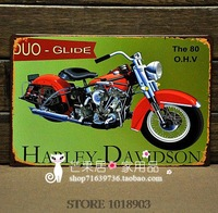 Vintage Motorcycle Advertisement Tin Sign Metal Poster Motor Club Bar Home Old Wall Art Hanging Plaque Decor Free Shipping H