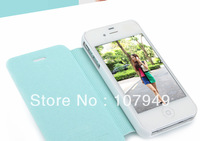 Free shipping! Kalaideng Iceland Series PU+PC Ultra Thin Flip Leather Case For iphone 5 With Retail Package