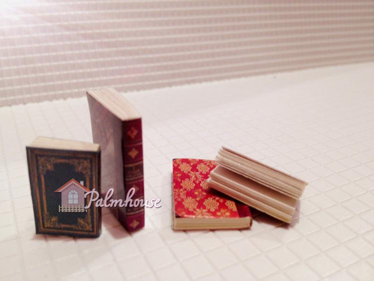 Online kopen wholesale poppenhuis miniatuur boeken uit china poppenhuis miniatuur boeken - Model bibliotheek houten ...
