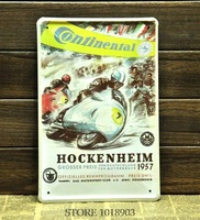 Motorcycle Race Tin Sign Old time feeling Motor Metal Poster Vintage Wall Art Decoration BAR PUB CLUB Home Decor Free shipping