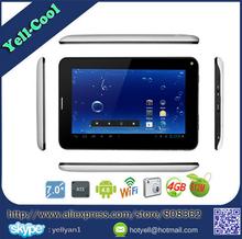 "Cheap 7"" Allwinner A13 2G Phone android Tablet PC Capacitive Screen Dual Camera SIM 512MB RAM 4G DHL free shipping 10pcs/lot(China (Mainland))"