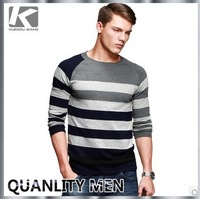 2014 New Arrival American Style Men's Brand Thin Sweater Knitwear, Casual Plaid Stylish Fashion Knitwear For Men, Free Shipping