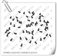 1.4*1 M1.4*1 1.4*1CM CM1.4*1 M1.4*1CM Flat thin round head philips micro machine screw CM black zinc with nylok patch