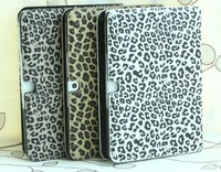 Fashion Leather Case for Samsung Galaxy Tab 3 10.1 P5200 P5210,Leopard Stand Cover for Samsung Galaxy Tab 3 10.1 P5200