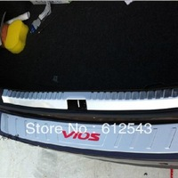 For Toyota Vios  2013 2014 car styling interior rear trunk bumper decoration protector sill strips scuff plate guard