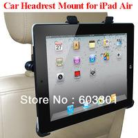10pcs/lot Car headrest mount for iPad Air, Car headrest holder for iPad 5, For iPad Air stand, PP bag packing, without color box