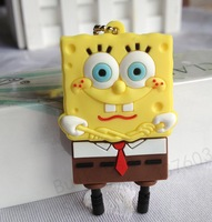 10pcs/lot pen drive cartoon Sponge Bob 1GB-32GB SquarePants usb flash drive bob flash memory stick pendrive gift free shipping