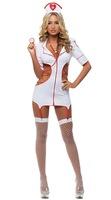 Nurse sexy lingerie uniform temptation nightclub PR clothes nurse sex costumes dress 8837-3 , free shipping