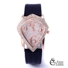 Hot sale Fashion Rhinestone Women Watch Jewelry Accessories Dress Wrist Watch Free shipping