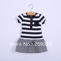 baby dress dresses  new 2014 girls childrens clothes autumn summer clothing set girls clothes
