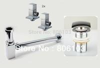 2014 Linear Drain Para Banheiro Drain Bathroom free Shipping Design Siphon Popup 2x1/2 Angle Valve Pushup Expiration Wbecken