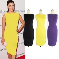 High Quality 2014 Fashion Sexy Bandage Dress Women Dresses Lady's Summer Dress Party Dresses Wholesale Hot Sale