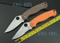 Free shipping 8'' New G10 Handle Pocket Folding Knife C81-ORG