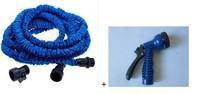 2014 Hot!!Free Shipping Pocket Hose Expandable Flexible Hose USA Stantard 25FT Garden hose with water gun,(As Seen On TV )