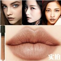 New Arrival Waterproof  Milik Chocolate Color Lipstick matte smooth liquid velvet lipgloss Long Lasting Lip Makeup