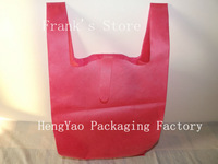 Biodegradable Vest Non-woven bag with printing you logo