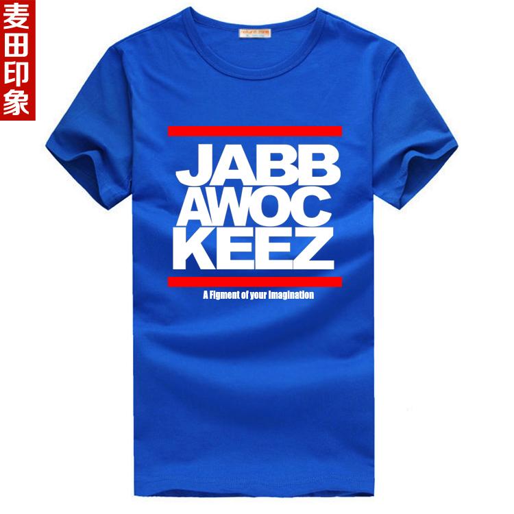 Máscara T -shirt hip- hop jabbawockeez de manga curta camisa básica masculina(China (Mainland))