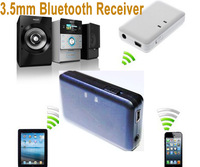 3.5mm Wireless Bluetooth Receiver Stereo Audio Music For iPod iPhone MP3 MP4 PC Free shipping &wholesale