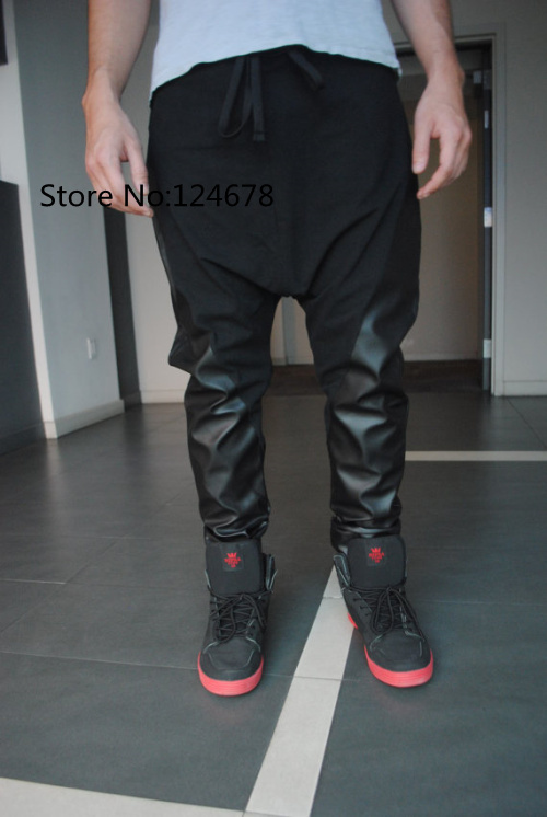 leather harem pants men - photo #4