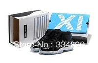 Free shipping 2013 Classic 11 men basketball shoes High quality classic XI men athletic shoes us size 8-13
