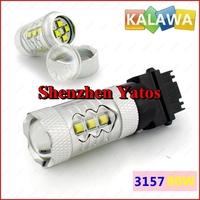 2pcs 3157/3156 led 80w High Power Cree Vehicles Car Turn Signal Brake Lights Bulbs