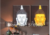 buddha head - pure hand painting entranceway NO frame decorative painting