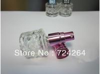 glass parfum bottle 7ml  eau de toilette perfume brands jar personal care empty glass bottle 10 ml atomizer 10pcs/lot  073257A