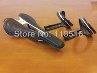 2014 D65.1 carbon leather upholstered saddle & carbon bottle cages 1 pair(BORA ULTRA Two/DURA-ACE/MAVIC/FFWD/LIGHT WEIGHT)