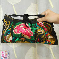 New 2014 Embroidered small size handbag embroidery one shoulder cross-body women's fashion purse