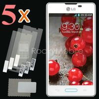 Free shipp New 5x CLEAR LCD Screen Protector Guard Cover Film Shield for LG Optimus L5 II E450 E460 With Retail Packing