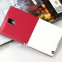 For Samsung Galaxy Note 3 Note3 N9000 N9005 Original S View Sleep Wake Up Function Flip Leather Back Cover Battery Housing Case