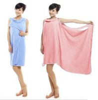 Hot selling sexy women bath robe high quality superfine fibre soft magic towel bathrobe multi-function for couples wholesale