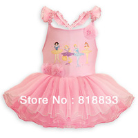Wholesale !Summer Snow White princess Girls Dress Children's Tutu Dress Princess Ballet Dress Ball Gown GQ-337