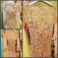 Ultimate luxury crystal formal dress formal dress toast the bride married formal dress evening dress xj0325