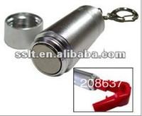 Magnetic detacher for stop locks