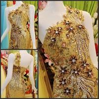 Ultimate luxury crystal formal dress formal dress toast the bride married formal dress evening dress xj73200