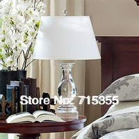 2014 new listing creative minimalist living room luxury crystal table lamp lighting lamps bedroom bedside IKEA