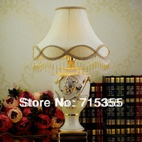 2014 new listing creative minimalist bedroom bedside European ceramic table lamp modern garden wedding