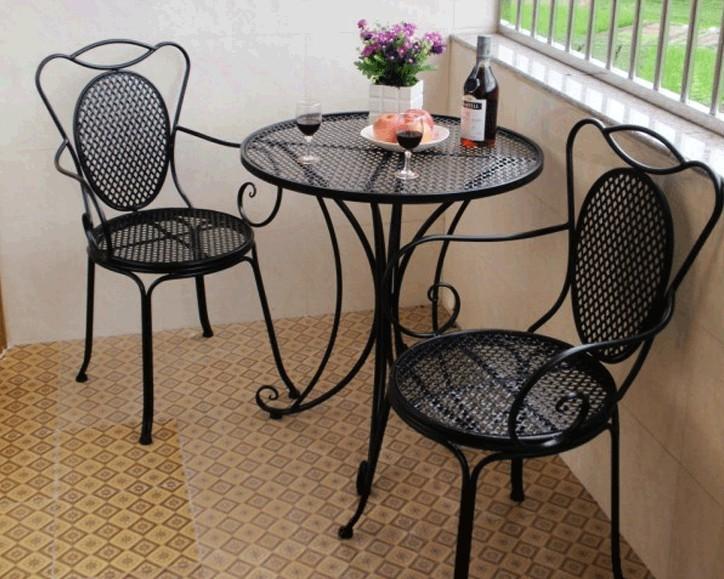 Online kopen wholesale balkon tafel stoelen uit china balkon tafel stoelen groothandel - Leuningen smeedijzeren patio ...