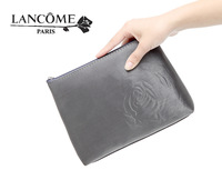 modest luxury  silver gray  rose Large capacity makeup bag[200127]