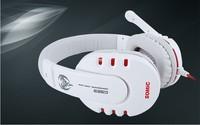 Brand Somic G923 Stereo Gaming Headset Headphone Powerful Bass Earphone with Microphone 40mm Hi-Fi Speaker Black/White