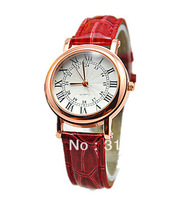 JW141 Fashion Pu leather Strap Lady Wristwatches Classic Analog Quartz Watches Women Casual Watch Wholesale 18pcs