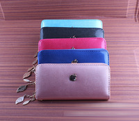 2014 new female models, Ms. single zipper wallet purse fashion bright skin handbags