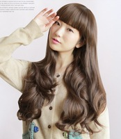 32'', 240g, 5 colors, long bady wavy synthetic hair full lcae wigs, cosplay wig, 1pcs