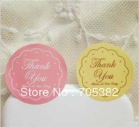 Thank you stickers for home made cakes,muffins,cookies,chocolates,seal sticker 2.7cm (ss-6843)