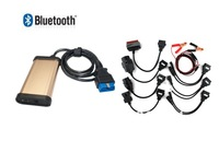 Nesest BLUETOOTH3 in 1 for Cars/Trucks  CDP Pro plus GOLDEN   TCS PLUS  V2013.01 with keygen + 8 car cable