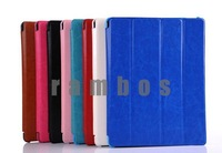 100 Piece Folding PU Leather Cover Smart Case for iPad 2 3 4 with 4 Fold Stand Function