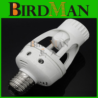 Free shipping New AC 220V 360 Degrees 60W PIR Motion Sensor infrared E27 Led Bulb light Lamp Holder