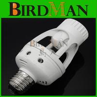 Free shipping New AC 220V 360 Degrees 60W PIR Motion Sensor infrared E27 Led Bulb light Lamp Holder