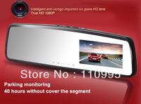 Night Vision1080P HD Car Dvr Camera record 3 inch rearview mirror G-sensor